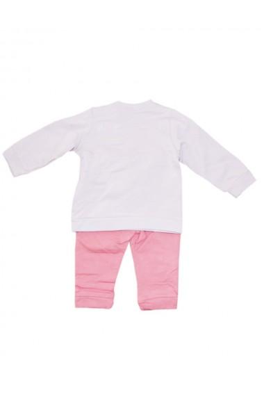 Compleu pentru fete compus din 2 piese bluza si pantaloni roz dae8246