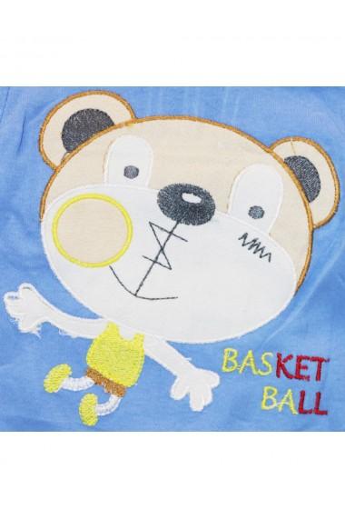 Compleu pentru baieti compus din 2 piese bluza si pantaloni albastru dae8254