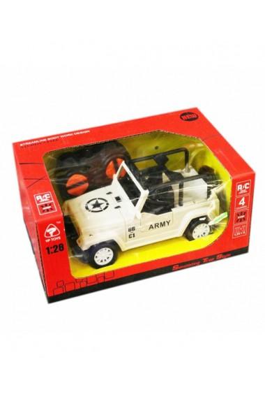Jucarie-Masina cu telecomanda-alb 20X13 cm DAE8521