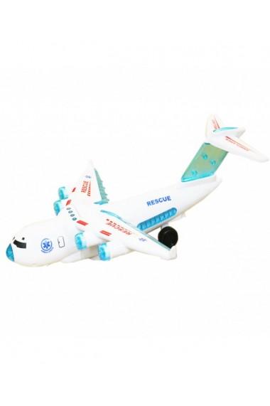 Jucarie-Avion cu baterii 33X30x10 cm DAE8527