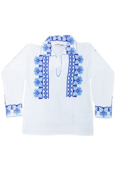 Bluza tip ie baieti alb dae3558