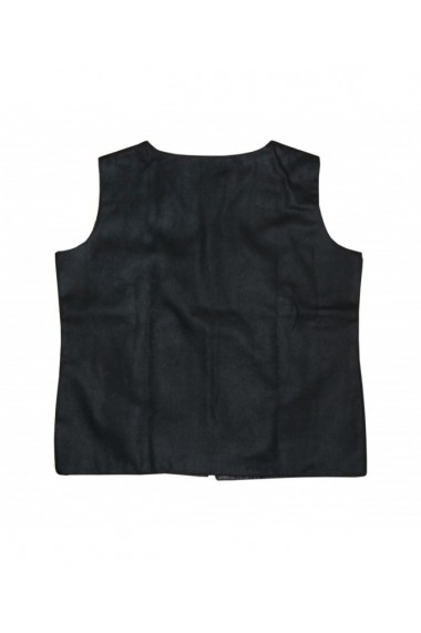 Vesta dama cu motive traditionale negru DAE8175