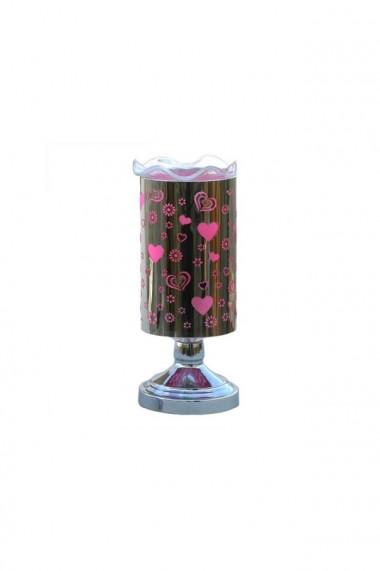 Veioza metalica aromaterapie 10X25 cm  dae2459
