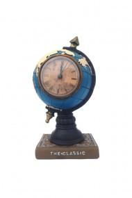 Ceas pusculita glob pamantesc 13x26 cm dae2716