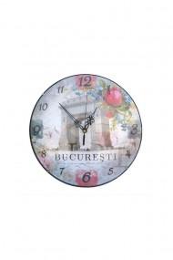 Ceas de perete Bucuresti 30 cm dae867