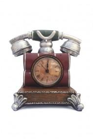 Pusculita Telefon retro cu ceas 16x16 cm dae844