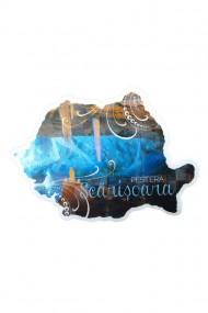 Magnet frigider Pestera Scarisoara 12 buc 12x9 cm dae1058