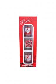 Set lumanari parfumate 9X6X26 cm dae3014