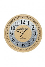 Ceas lemn - Champs Elysees 60x60 cm dae3064