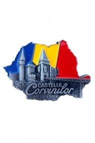 Set 12 bucati Magnet cleste - Castelul Corvinilor 7x5 cm dae4031