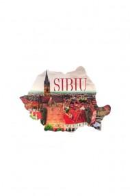 Cuier-Harta Sibiu-2 agatatori 18x13cm dae4058