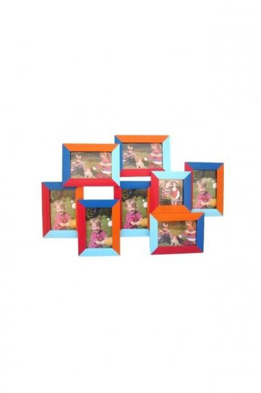 Rama colorata cu 8 poze 65x42 cm dae4523