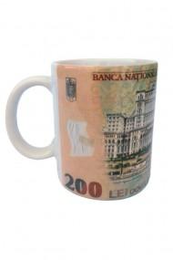 Set 12 bucati cana cu bancnota-Mihai Viteazu dae6716