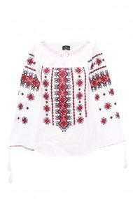 Bluza dama tip ie brodata traditionala Alb dae5167