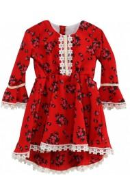 Rochita pentru fete rosie dae 17126