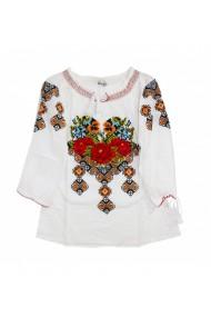 Bluza tip ie pentru dama Alb DAE17178