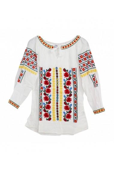 Bluza tip ie pentru dama Alb DAE17180