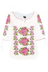 Bluza tip ie pentru dama Alb DAE6993