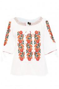 Bluza tip ie pentru dama Alb DAE6996