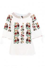 Bluza tip ie pentru dama Alb DAE6999