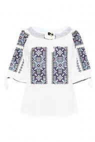 Bluza tip ie pentru dama Alb DAE7051
