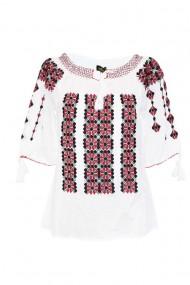 Bluza tip ie pentru dama Alb DAE7052