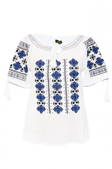 Bluza tip ie pentru dama Alb DAE7054