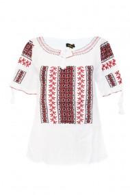 Bluza tip ie pentru dama Alb DAE7067