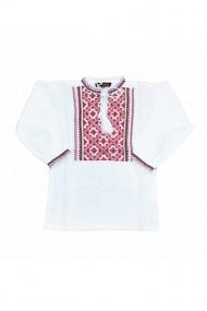 Bluza tip ie baieti brodata traditional alb DAE6624