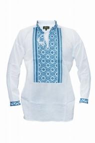 Bluza barbati tip ie brodata traditional Alb DAE6631