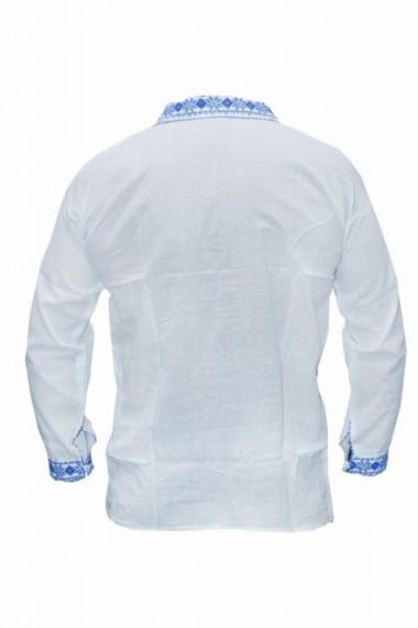 Bluza barbati tip ie brodata traditional Alb DAE6632