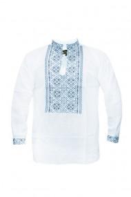 Bluza barbati tip ie brodata traditional Alb DAE6637