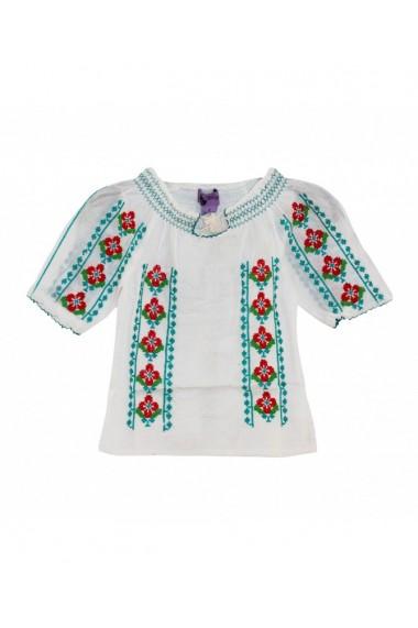 Bluza tip ie fete Alb DAE17190