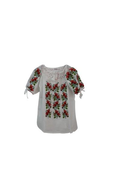 Bluza tip ie pentru dama Alb DAE17244