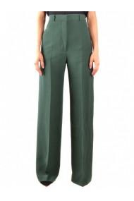 Pantaloni drepti Burberry 133111 Verde