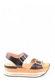 Sandale cu toc HOGAN 133038 Negru