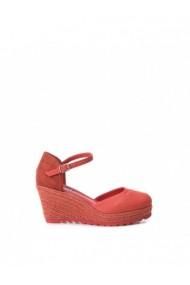 Sandale cu toc XTI DVG-48941_CORAL Rosu