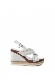 Sandale cu toc XTI DVG-48922_ICE Alb