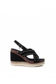 Sandale cu toc XTI DVG-48922_BLACK Negru