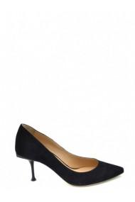 Pantofi cu toc Sergio Rossi 127179 Negru