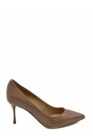 Pantofi cu toc Sergio Rossi 158343 Bej