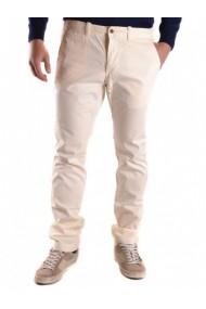 Pantaloni Lungi Gant 99518 Alb