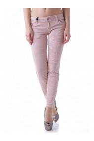 Pantaloni drepti Sexy Woman 64145 Roz