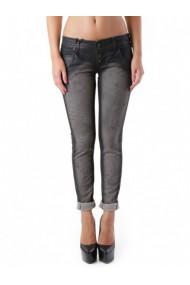 Pantaloni drepti Sexy Woman 64495 Negru