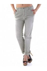 Pantaloni drepti Sexy Woman 66738 Verde