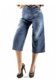 Pantaloni drepti Sexy Woman 71970 Albastru