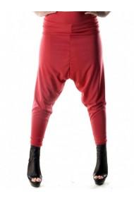 Pantaloni drepti Sexy Woman 72783 Rosu