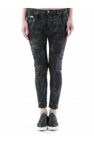 Pantaloni drepti Sexy Woman 72865 Negru