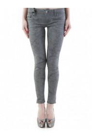 Pantaloni drepti Sexy Woman 72875 Gri