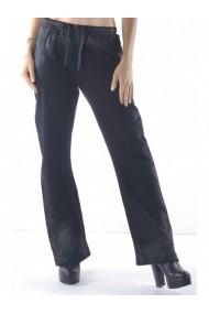 Pantaloni drepti Sexy Woman 76081 Negru